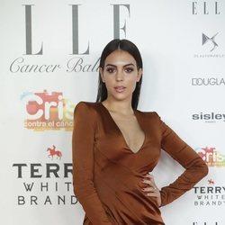 Georgina Rodríguez en la Gala contra el cáncer de Elle