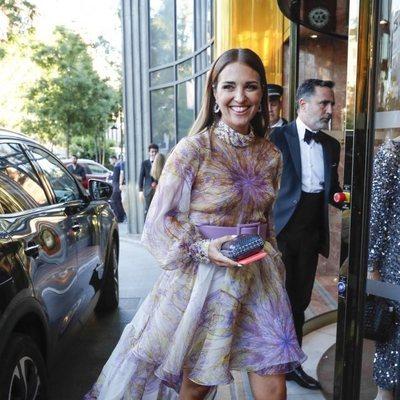 Paula Echevarría a su llegada a la Gala contra el cáncer de Elle