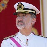El Rey Felipe en el desfile del Día de las Fuerzas Armadas
