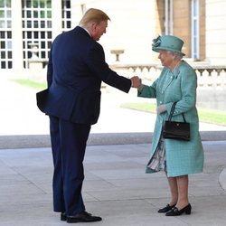 La Reina Isabel recibe a Donald Trump con motivo de su Viaje de Estado a Reino Unido