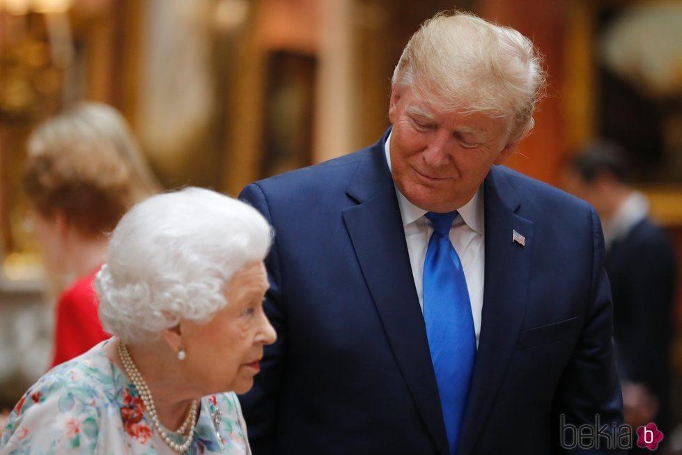 La Reina Isabel II enseña a Donald Trump la Royal Collection en su Viaje de Estado a Reino Unido