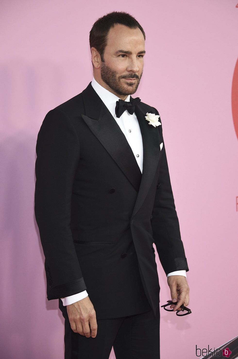 Tom Ford en la alfombra roja de los CFDA FASHION AWARDS 2019