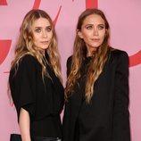 Mary Kate Olsen y Ashley Olsen  en la alfombra roja de los CFDA FASHION AWARDS 2019