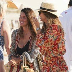 Laura Matamoros y María Pombo, juntas en Ibiza