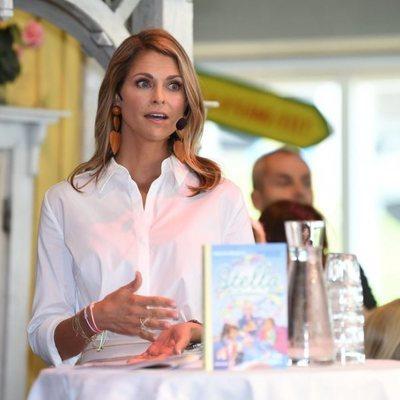 La Princesa Magdalena de Suecia en la presentación de su nuevo libro infantil