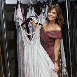 María José Suárez inaugura su nueva tienda de ropa