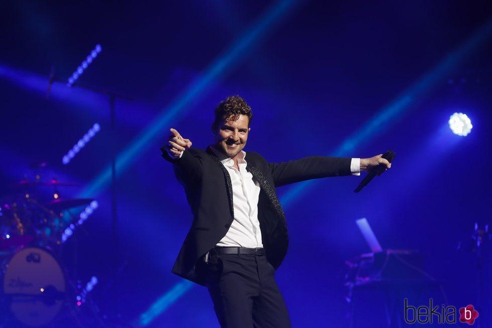 David Bisbal celebrando su 40 cumpleaños con un concierto en el Teatro Real
