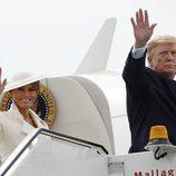 Donald y Melania Trump terminan su Viaje de Estado a Reino Unido