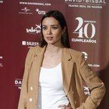 Dafne Fernández en el concierto por el 40 cumpleaños de David Bisbal
