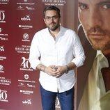 Màxim Huerta en el concierto por el 40 cumpleaños de David Bisbal