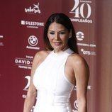 Ivonne Reyes en el concierto por el 40 cumpleaños de David Bisbal