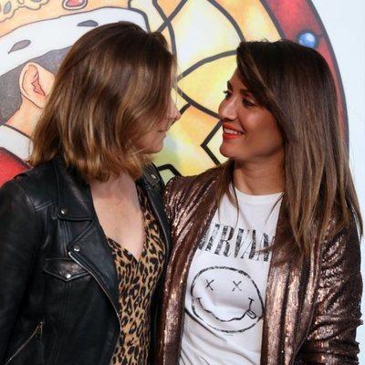 La complicidad de Sandra barneda y Nagore Robles en un evento sobre Queen
