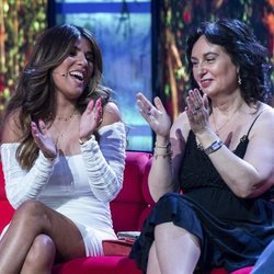 Chabelita Pantoja y la madre de Omar Montes en la séptima gala de 'Supervivientes 2019'