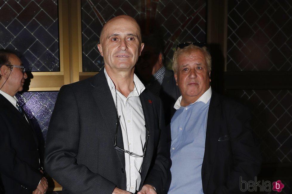 Pepe Viyuela en el tanatorio de Chicho Ibañez Serrador