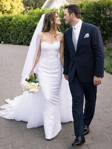 Chris Pratt y Katherine Schwarzenegger recién casados
