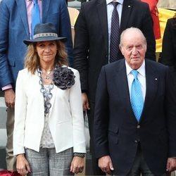 El Rey Juan Carlos y la Infanta Elena en el torneo de Roland Garros 2019
