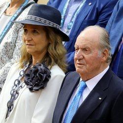 El Rey Juan Carlos asiste a la final de Roland Garros 2019