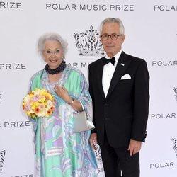 Cristina de Suecia y Tord Magnuson en los Polar Music 2019