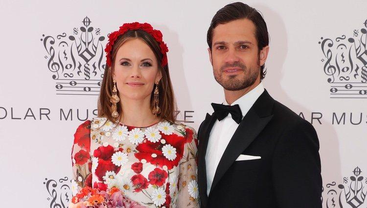 Carlos Felipe de Suecia y Sofia Hellqvist en los Polar Music 2019