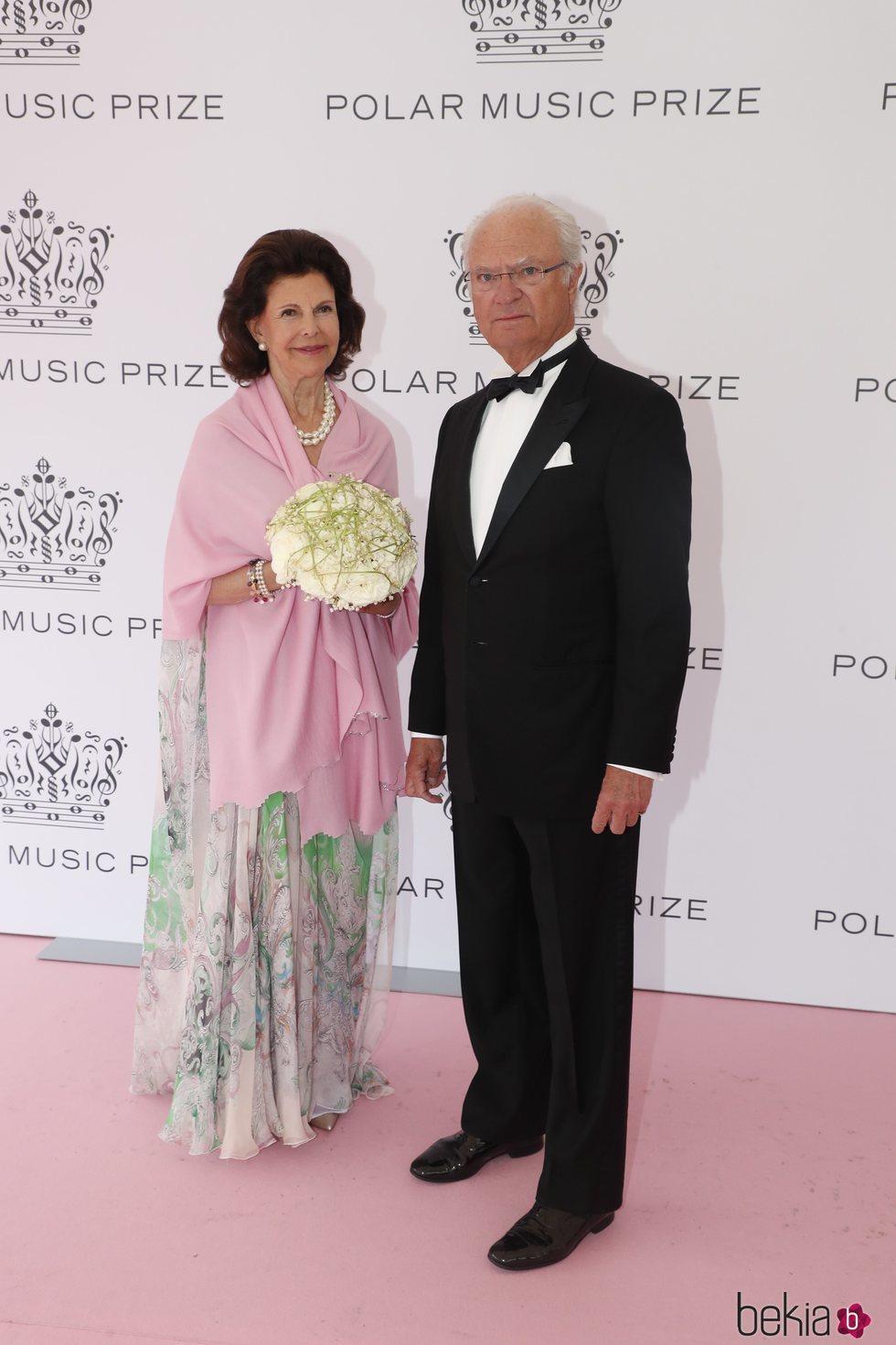 Carlos Gustavo y Silvia de Suecia en los Polar Music 2019
