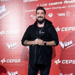 Antonio Orozco en la presentación del concierto de 'La Voz'