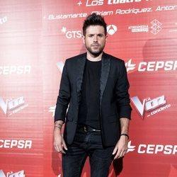 Pablo López en la presentación del concierto de 'La Voz'