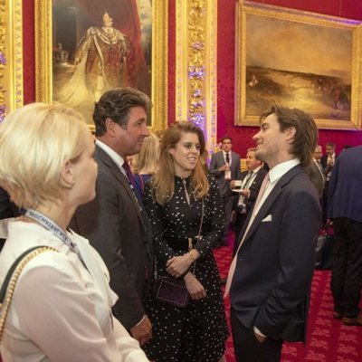 Beatriz de York y Edoardo Mapelli Mozzi en Pitch at Palace en St James' Palace