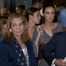 La Infanta Elena y Victoria Federica en el concierto de Siempre Así