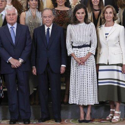 La Reina Letizia y el Duque de Alba en La Zarzuela