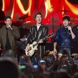 Los Jonas Brothers en su concierto de Nueva York 2019