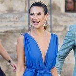 Carla Barber en la boda de Pilar Rubio y Sergio Ramos
