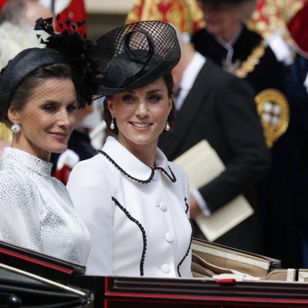 Los Reyes Felipe y Letizia con la Familia Real Británica en la Orden de la Jarretera