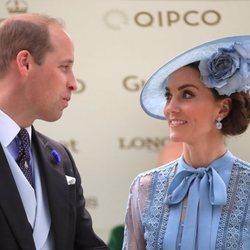 Los Duques de Cambridge en Ascot 2019