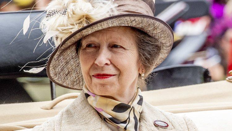 La Princesa Ana en Ascot 2019