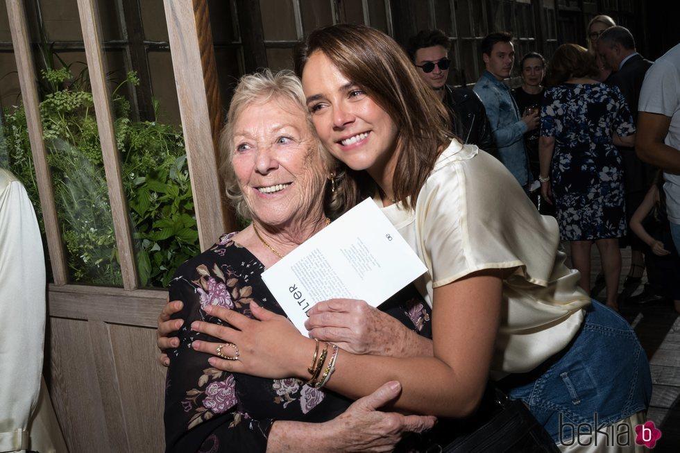 Pauline Ducruet y Maguy Ducruet en la Paris Fashion Week 2019