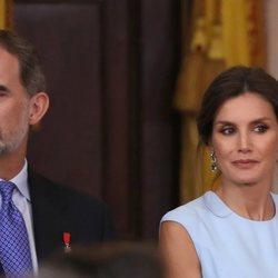 Los Reyes Felipe y Letizia en el quinto aniversario de reinado de Felipe VI