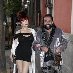 Yurena y Juan Miguel en la fiesta de Zeppelin de 2019