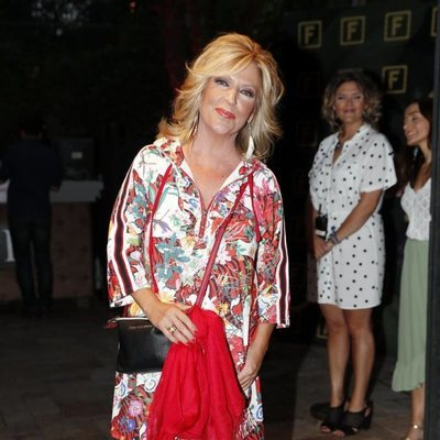 Lydia Lozano en la fiesta de la productora Zeppelin de 2019