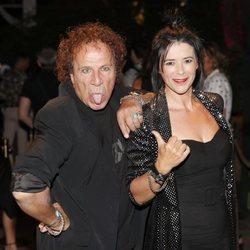 Fortu y Yoli en la fiesta de la productora Zeppelin de 2019