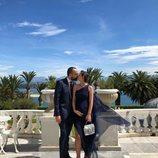 Laura Escanes y Risto Mejide antes de la boda de María Pombo