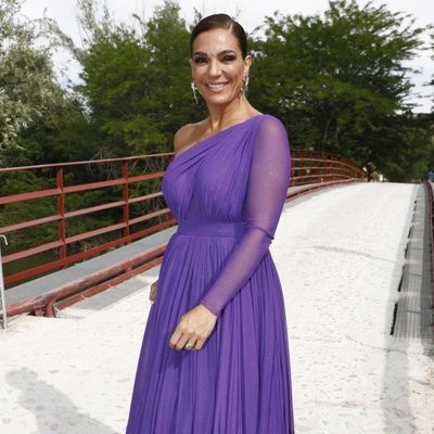 Raquel Bollo en la boda de Belén Esteban y Miguel Marcos