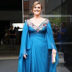 Carlota Corredera en la boda de Belén Esteban y Miguel Marcos