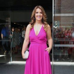 Laura Fa en la boda de Belén Esteban y Miguel Marcos