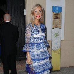 Carmen Lomana en la preboda de Ainhoa Arteta y Matías Urrea