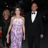 Ana Rosa Quintana y su marido Juan Muñoz en la preboda de Ainhoa Arteta y Matías Urrea