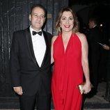 Susana Díaz y José María Moriche en la preboda de Ainhoa Arteta y Matías Urrea