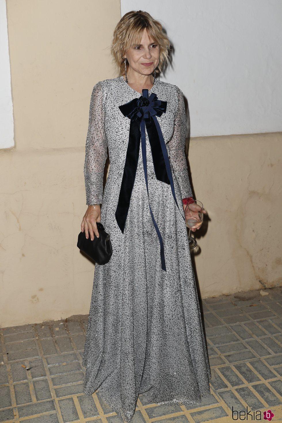 Eugenia Martínez de Irujo en la preboda de Ainhoa Arteta y Matías Urrea