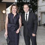 Susana Díaz y José María Moriche en la boda de Ainhoa Arteta y Matías Urrea