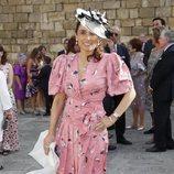 Paloma Segrelles en la boda de Ainhoa Arteta y Matías Urrea