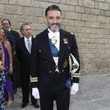 Matías Urrea antes de su boda con Ainhoa Arteta